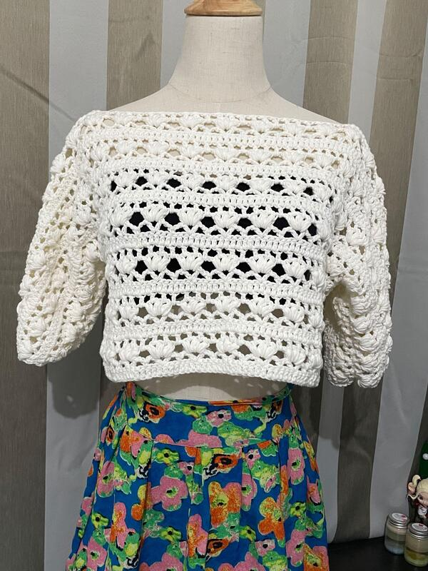 top a crochet fácil