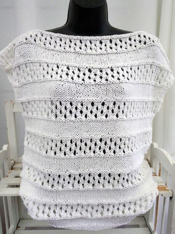 Top a crochet sencillos