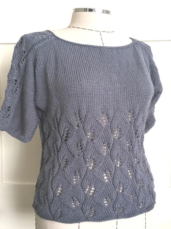 Top de verano a crochet