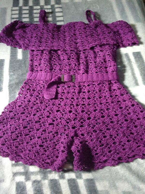 vestidos para bebe a crochet paso a paso