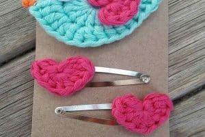 3 ideas de accesorios para el cabello a crochet