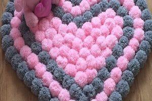 3 alfombras de lana hechas a mano