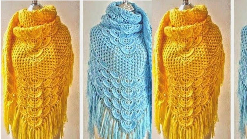 chalinas tejidas a crochet
