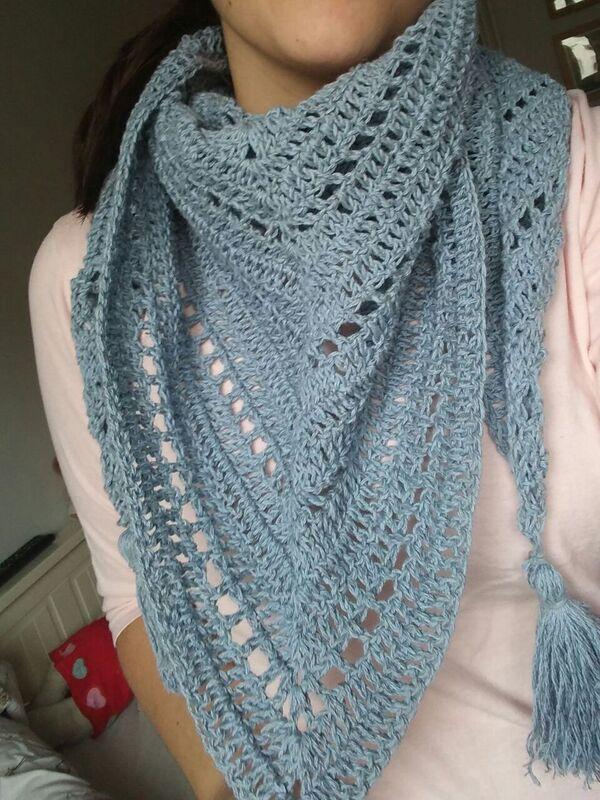 chalinas tejidas a crochet modernas