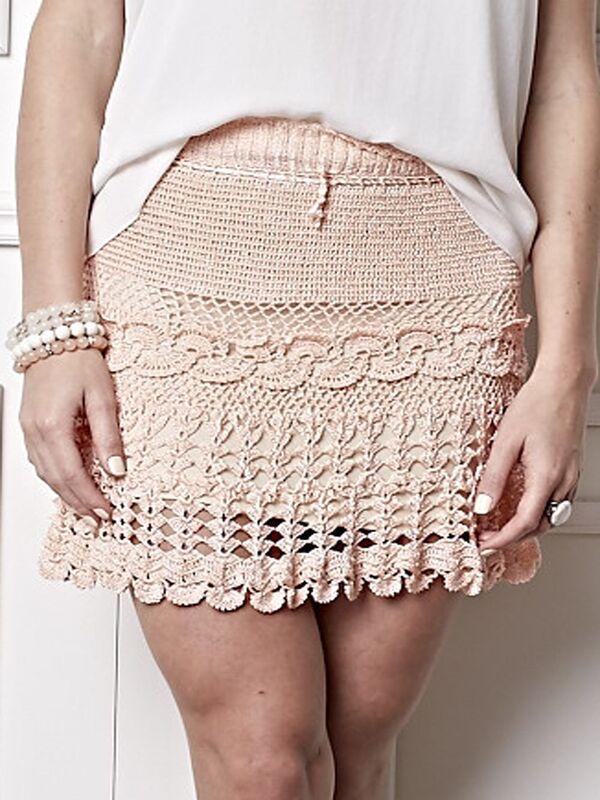 faldas a crochet juveniles paso a paso