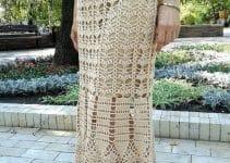 Faldas a crochet paso a paso talla 32 a 36
