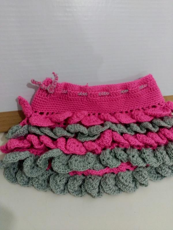 faldas a crochet sencillas