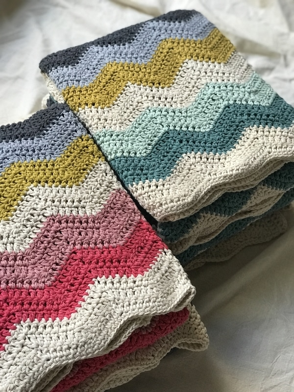 mantas a crochet paso a paso
