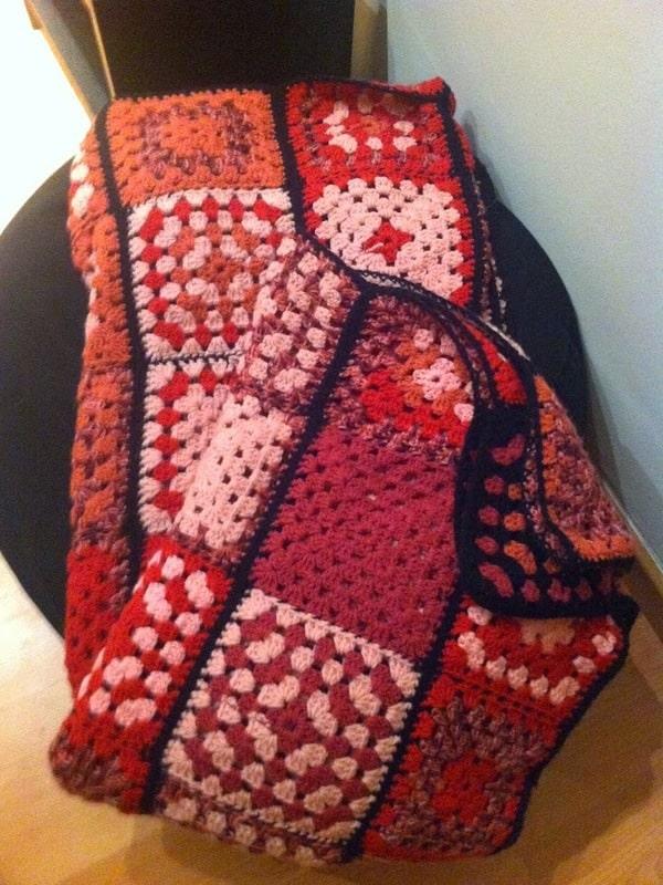 mantas a crochet paso a paso modernas