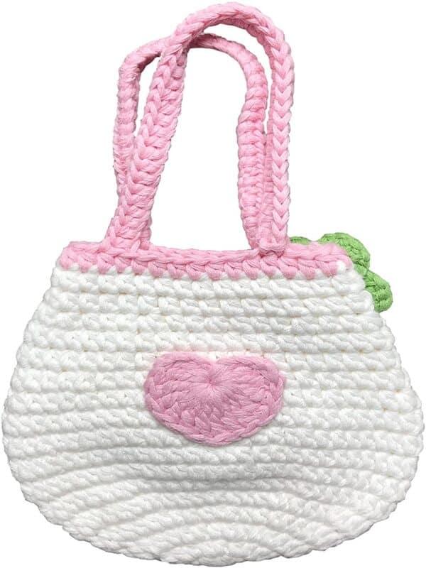 mini mochilas a crochet