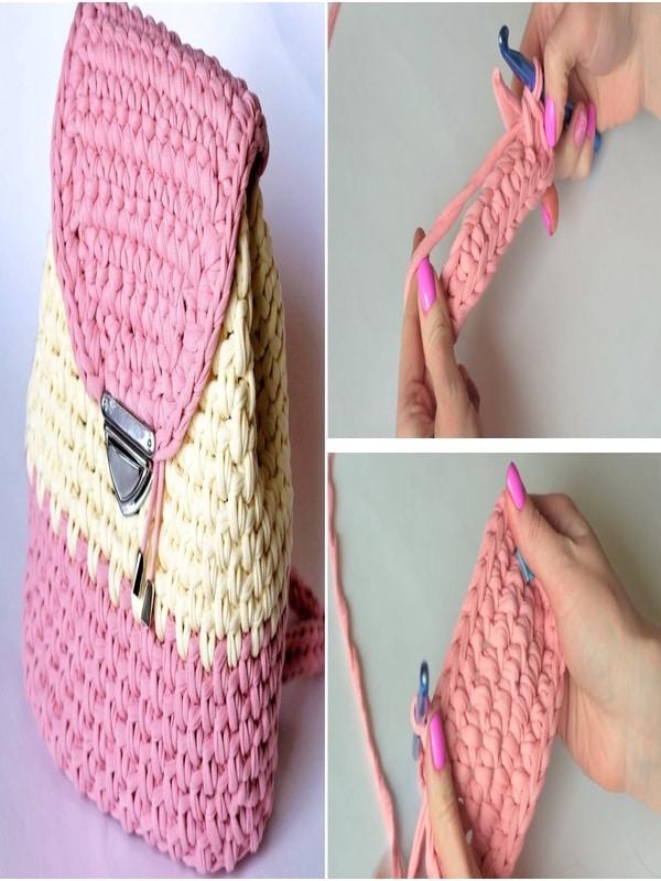 mochilas a crochet paso a paso