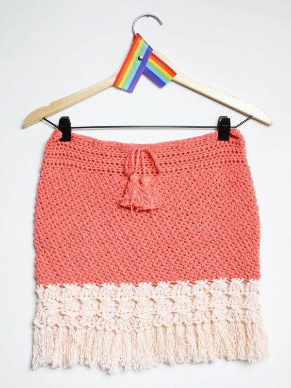 polleras tejidas a crochet