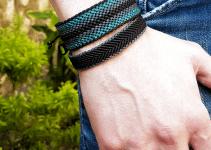 2 ideas de pulsera de hilo para hombre