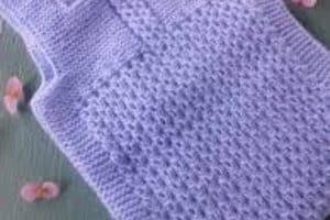 Chalecos tejidos para bebes de 1 año