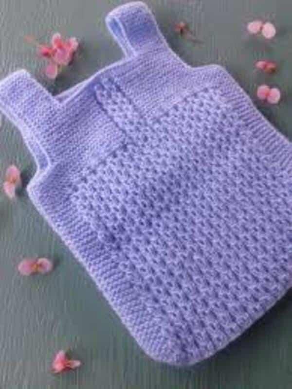 chalecos tejidos para bebes