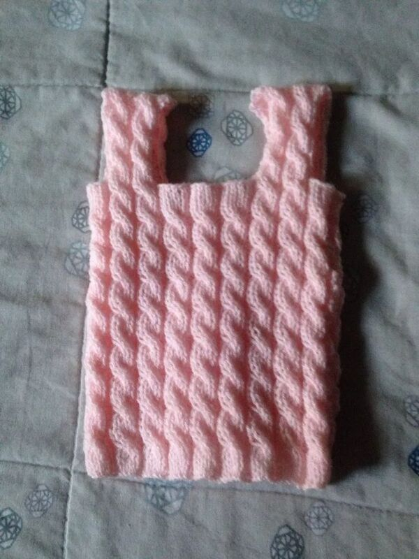 tutorial de chalecos tejidos para bebes