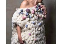 2 técnicas para chalecos tejidos con lana gruesa
