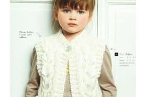 Chalecos tejidos para niñas de 12 años