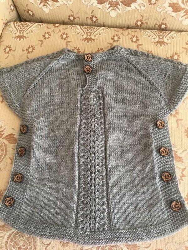 chalecos tejidos a crochet para niñas de 12 años