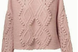 Chompas tejidas para niñas 2019 sencillas