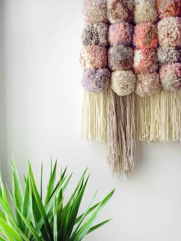pompones de lana para decorar