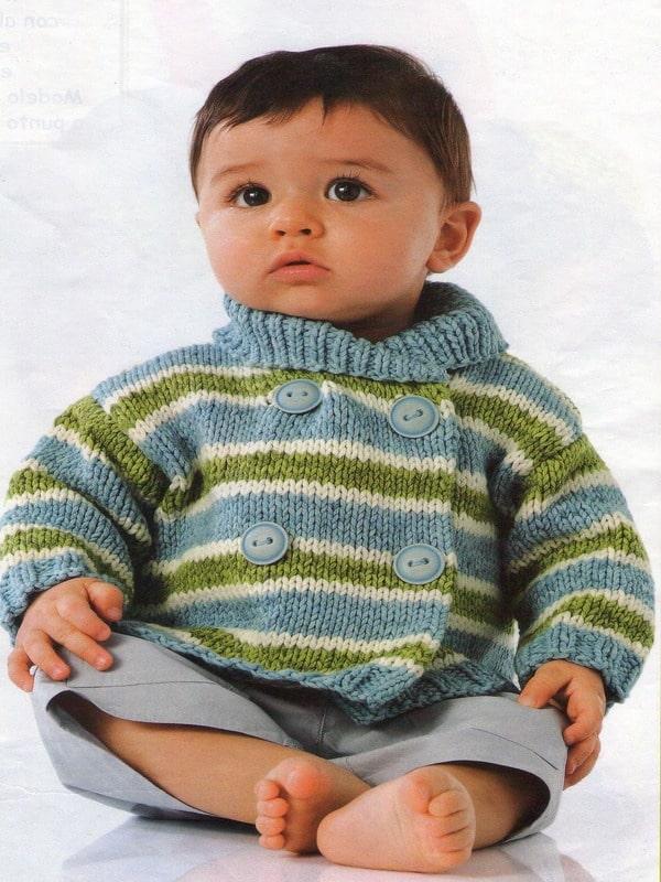 chompas para bebes a palitos