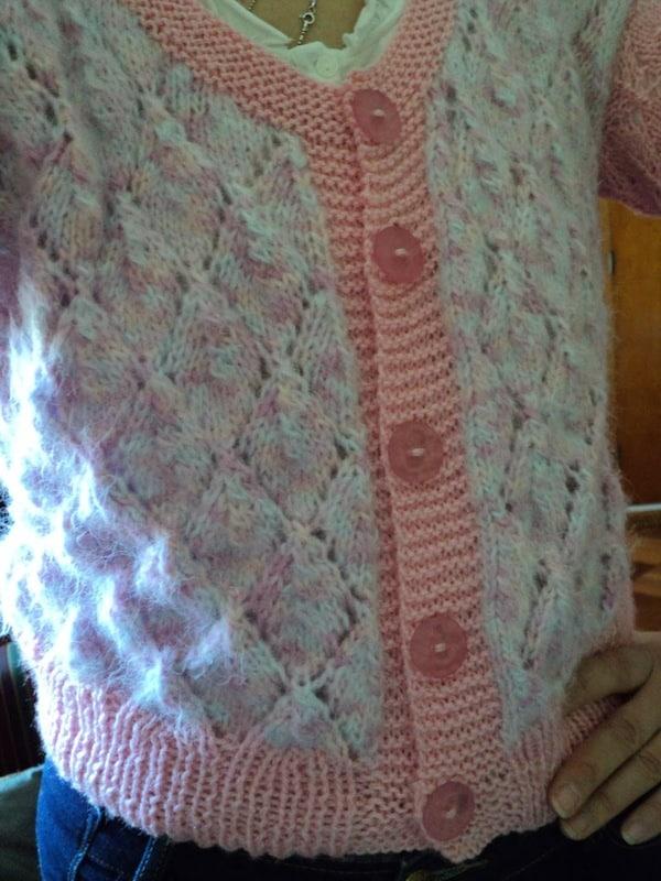tejer chalecos de lana mujer