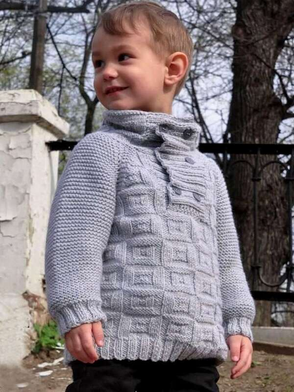 tejidos de chompas para niños