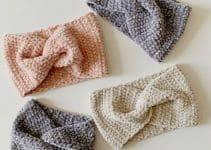 Como hacer un cintillo a crochet 2 formas