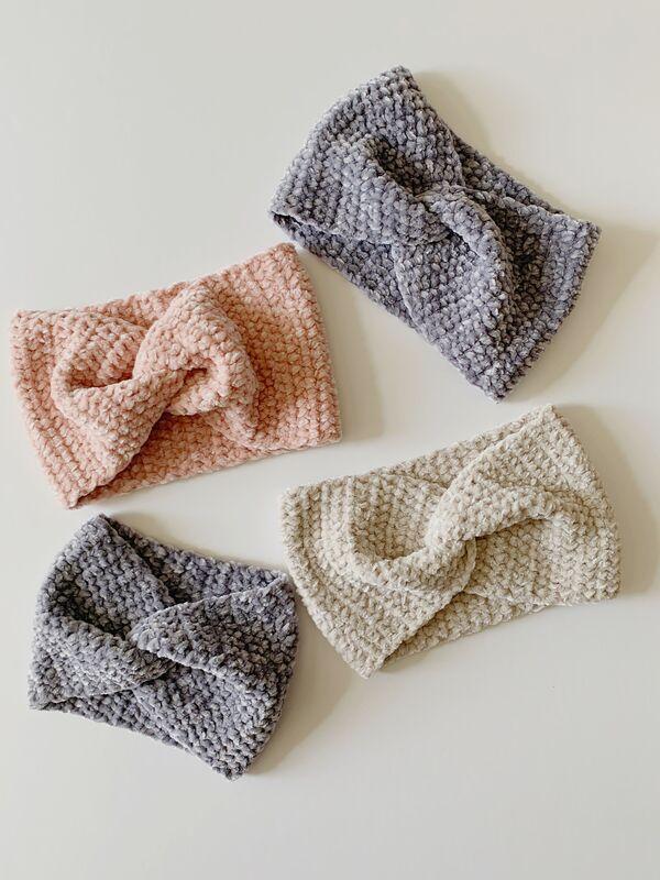 cintillos sencillo a crochet paso a paso