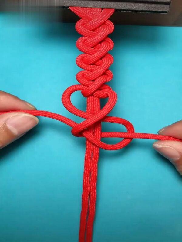 como se hace pulseras de hilo