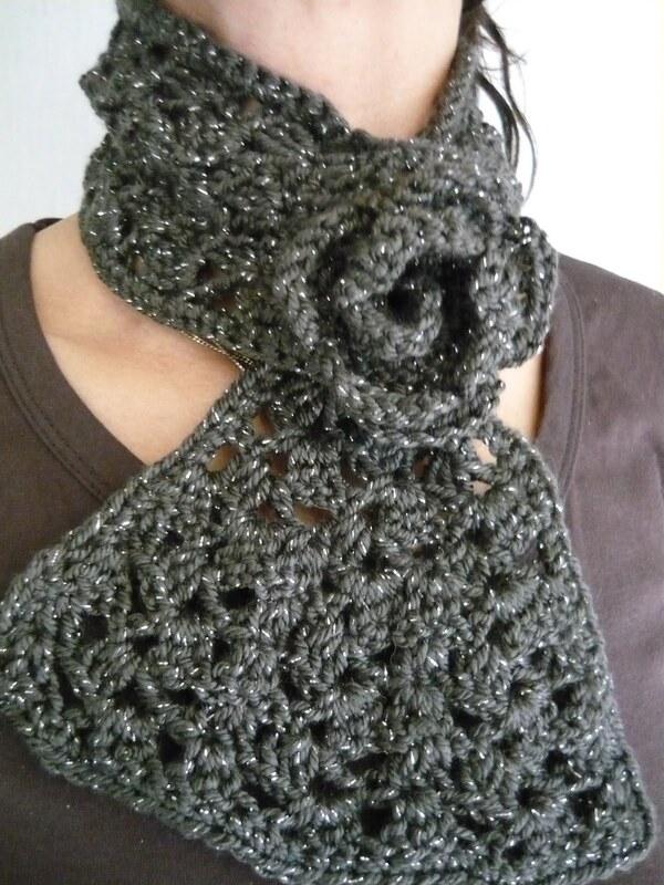 cuelleras tejidas crochet  mujer paso a paso