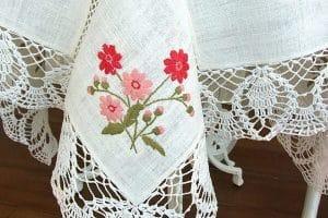 2 Manteles a crochet rectangulares patrones