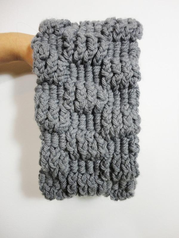 como hacer cuellos tejidos a dos agujas