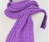 Como tejer una bufanda a crochet con ganchillo de 4.5 mm