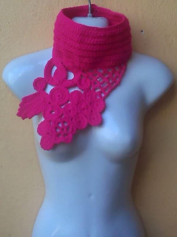 cuelleras tejidas a crochet