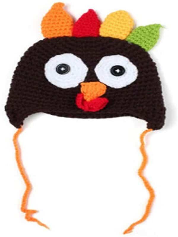 gorros de bebe a crochet