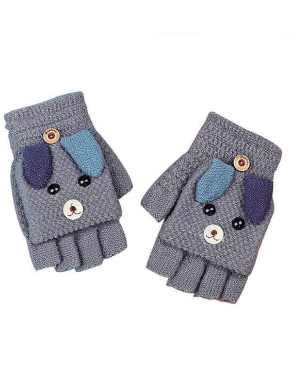 como tejer guantes de lana para el frio
