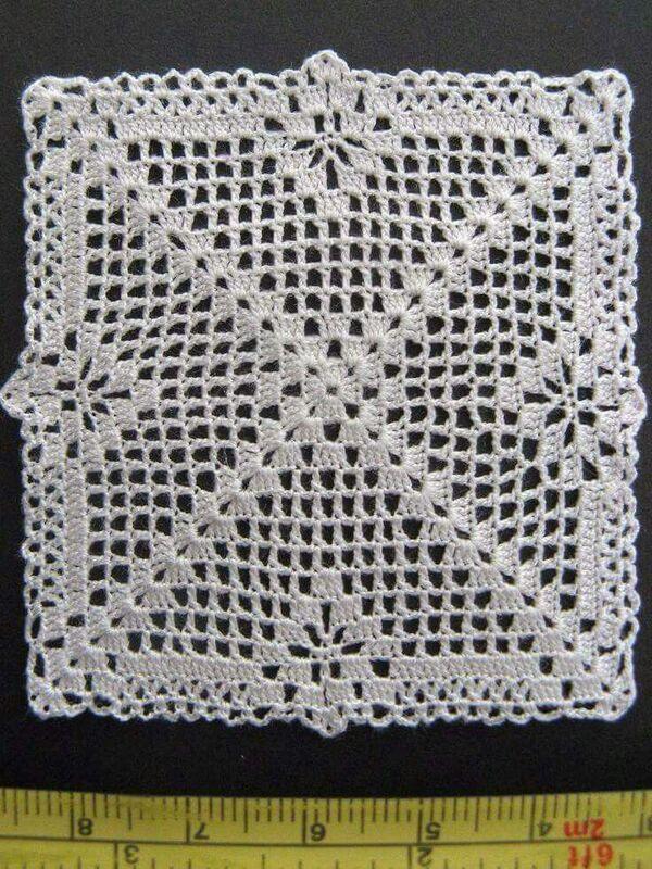 manteles tejidos a crochet cuadrados