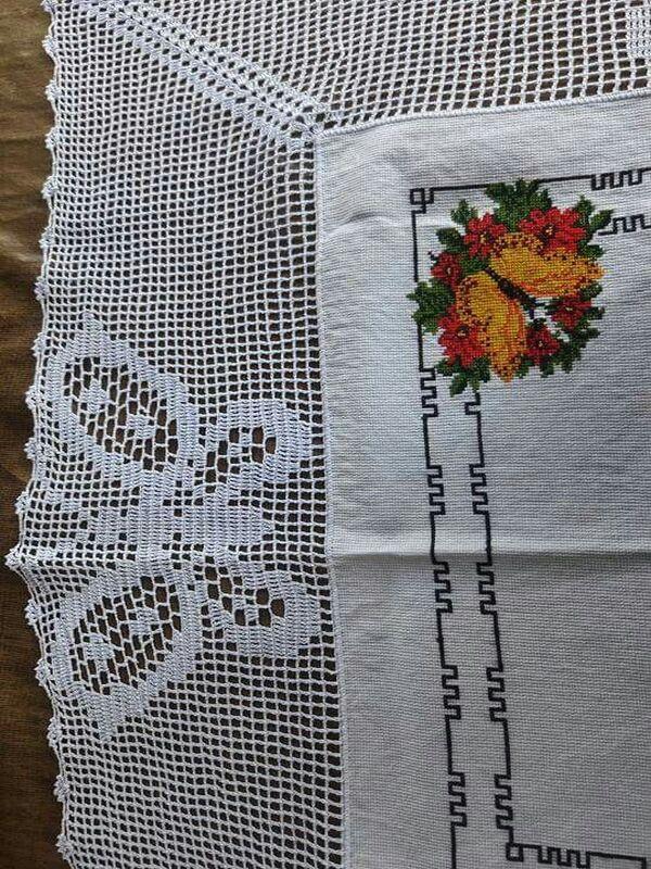 orilla tejidas a crochet para servilletas paso a paso