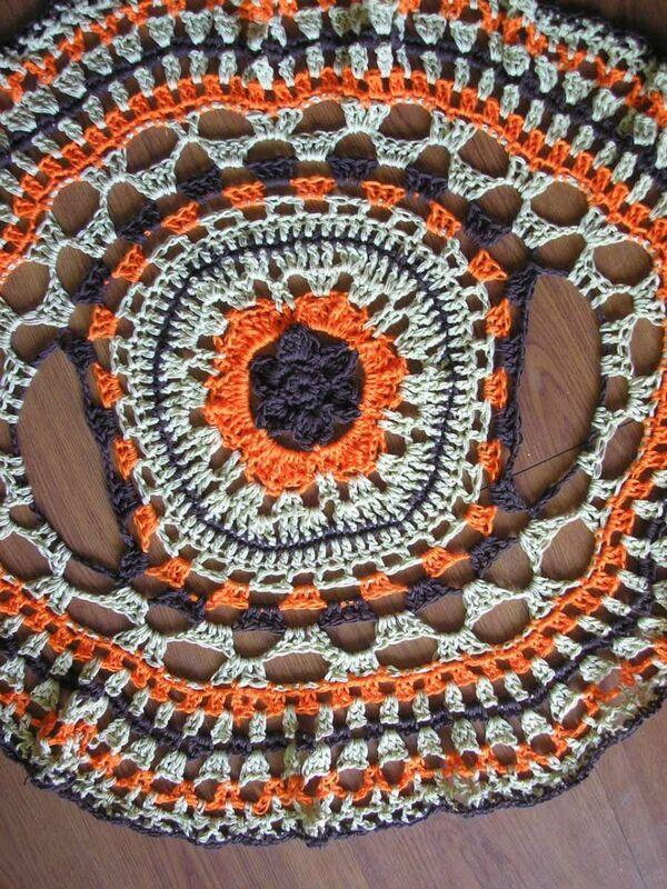 chaleco circular a crochet fácil