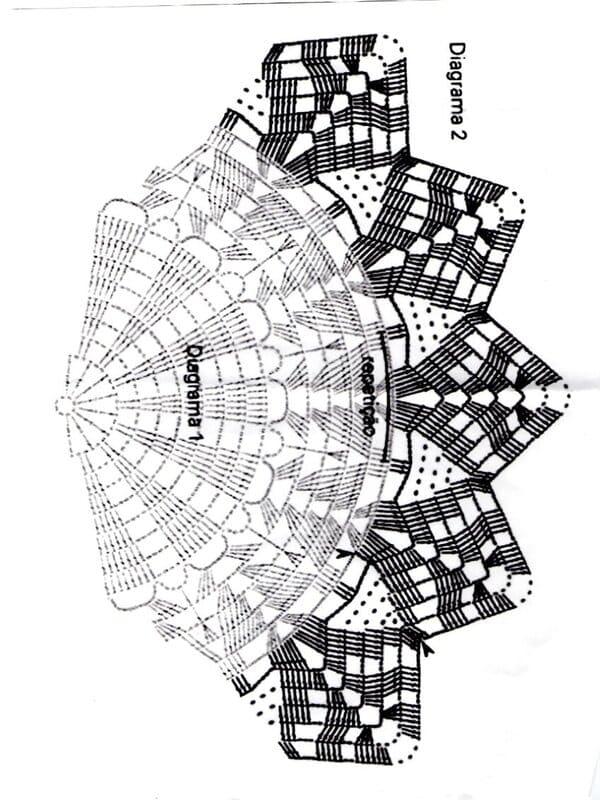 patrones de chaleco circular a crochet