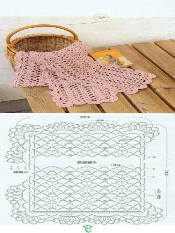 estolas tejidas a crochet