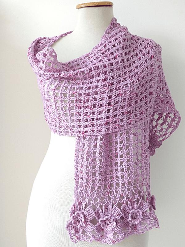 estolas a crochet paso a paso