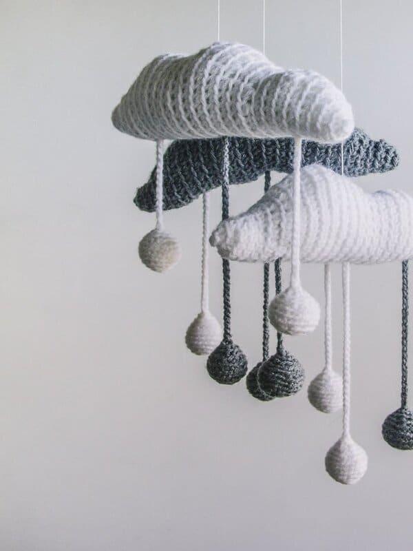 nubes tejidas a crochet paso a paso