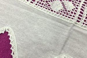 2 Randas para colchas a crochet