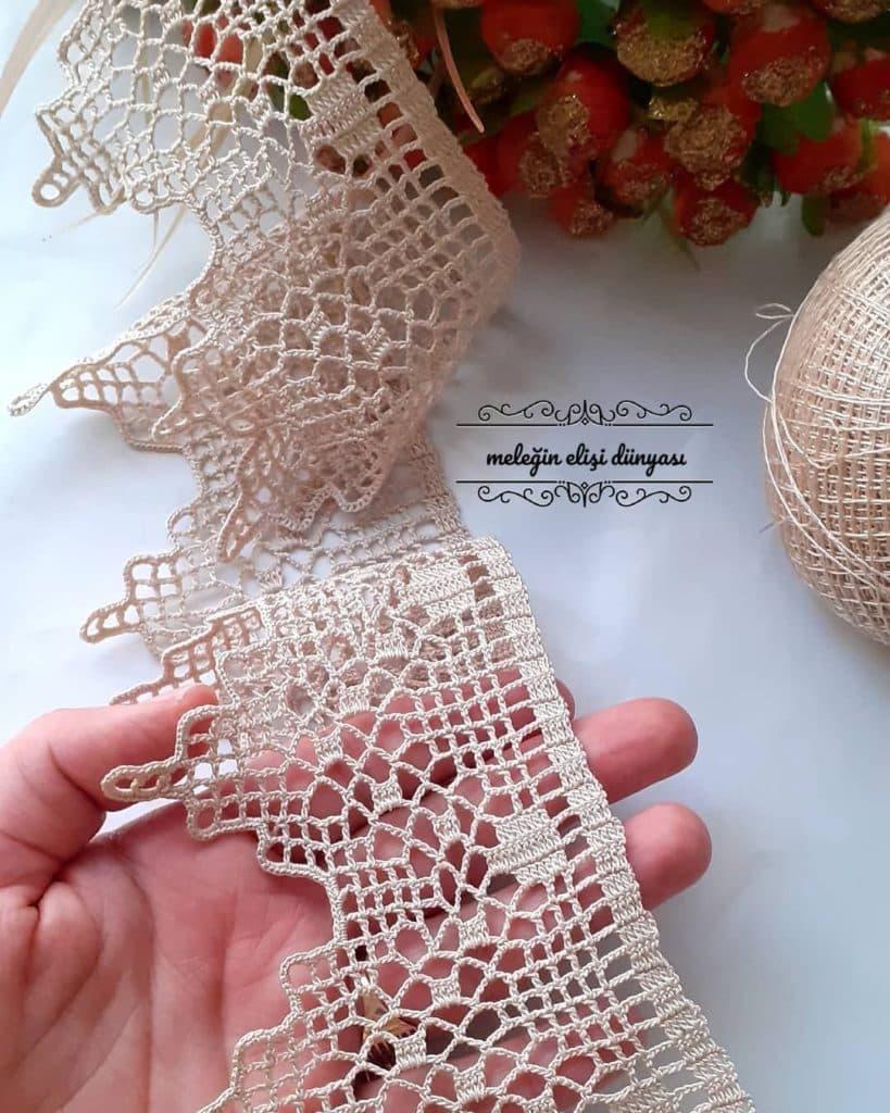 randas para colchas a crochet